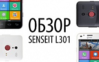 Видеообзор SENSEIT L301 от Mobile-review.com