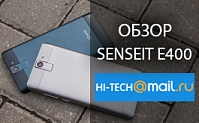 Обзор SENSEIT E400 от Hi-tech.mail.ru