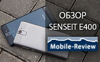 Обзор SENSEIT E400 от Mobile-Review.com