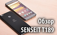 Видеообзор SENSEIT T189 от mobile-review.com